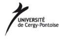 Université de Cergy Pontoise